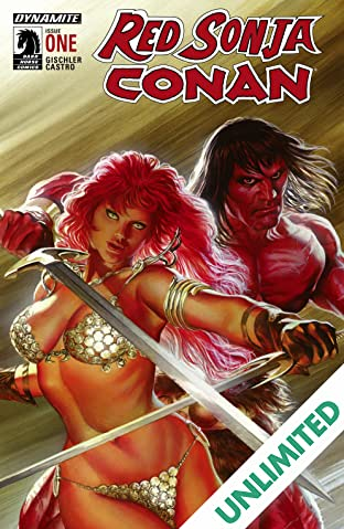 Red Sonja/Conan #1: Digital Exclusive Edition